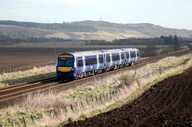 Viajar por Escocia en transporte público