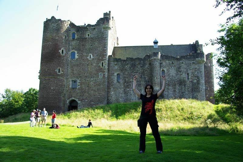Escocia-de-cine-Doune-Castle