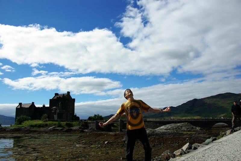 Escocia-de-cine-castillo-Eilean-Donan