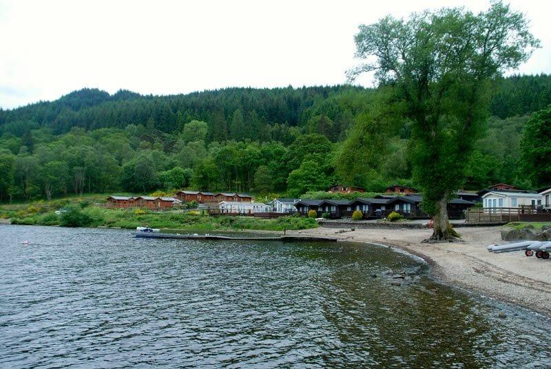 Acampar en Escocia - Camping del Lago Lomond