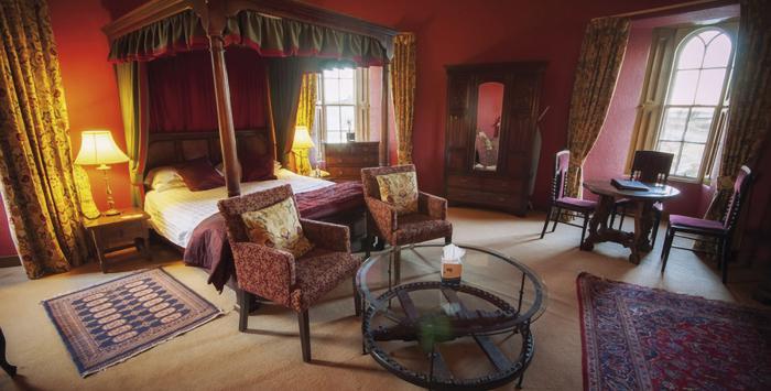Dormir en un castillo en Escocia Dalhousie