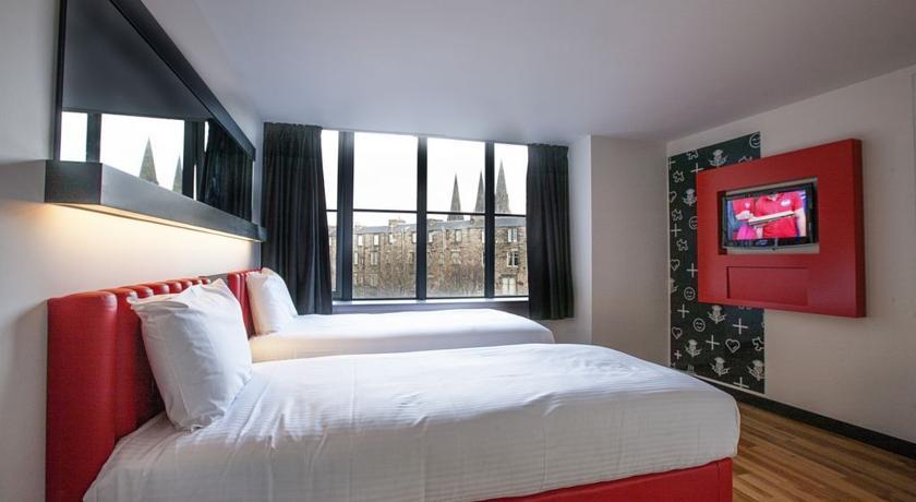 Hoteles en Edimburgo Tune Hotel