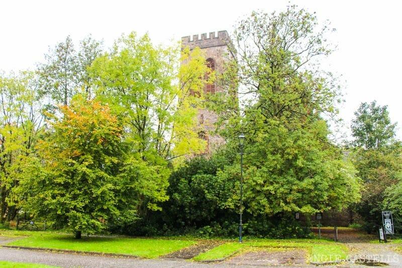 La torre del campanario de Inveraray, Escocia