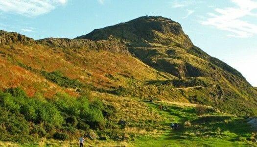 Subir a Arthur's Seat, la cima volcánica de Edimburgo