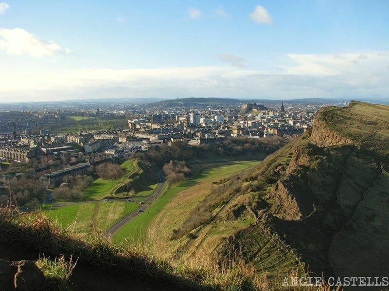 Edimburgo vistas desde Arthurs Seat