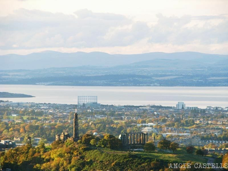 Edimburgo y el fiordo desde Arthur's Seat