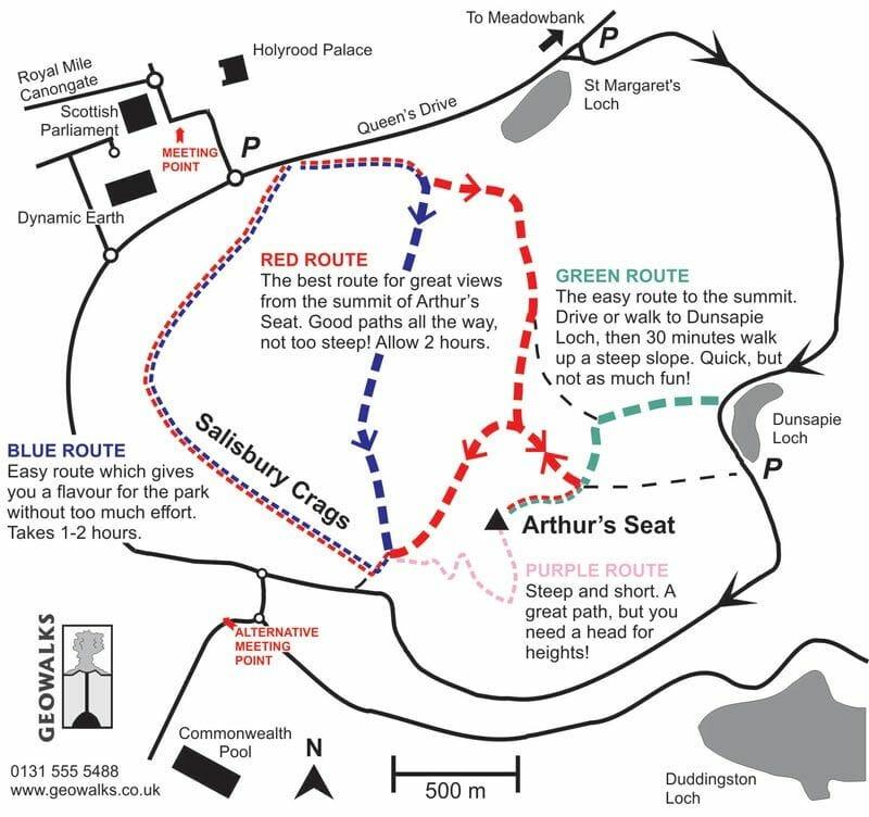 Mapa-de-Arthurs-Seat-Edimburgo-Geowalks