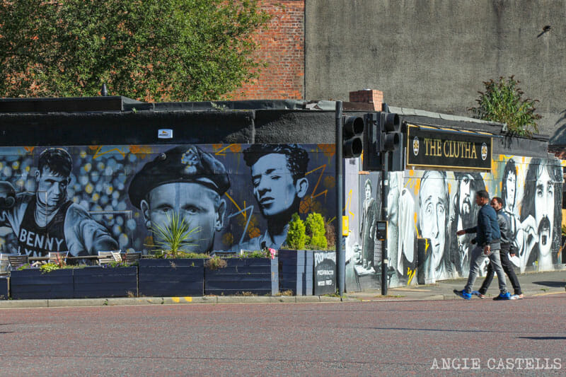 Ruta de grafitis y arte urbano de Glasgow: The Clutha