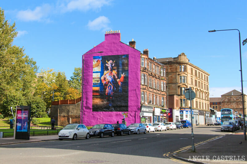 Ruta por los murales de Glasgow - Billy Connolly