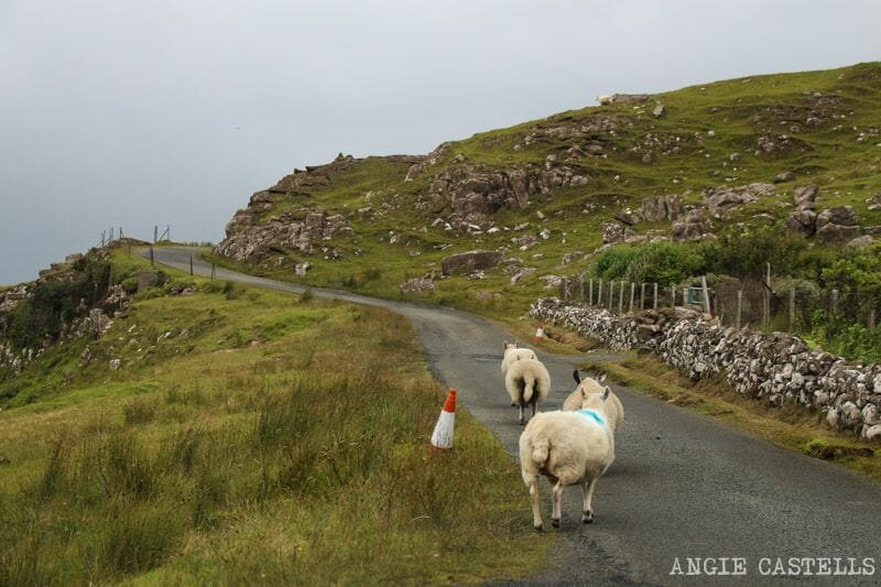 Ruta por la isla de Skye en coche Escocia