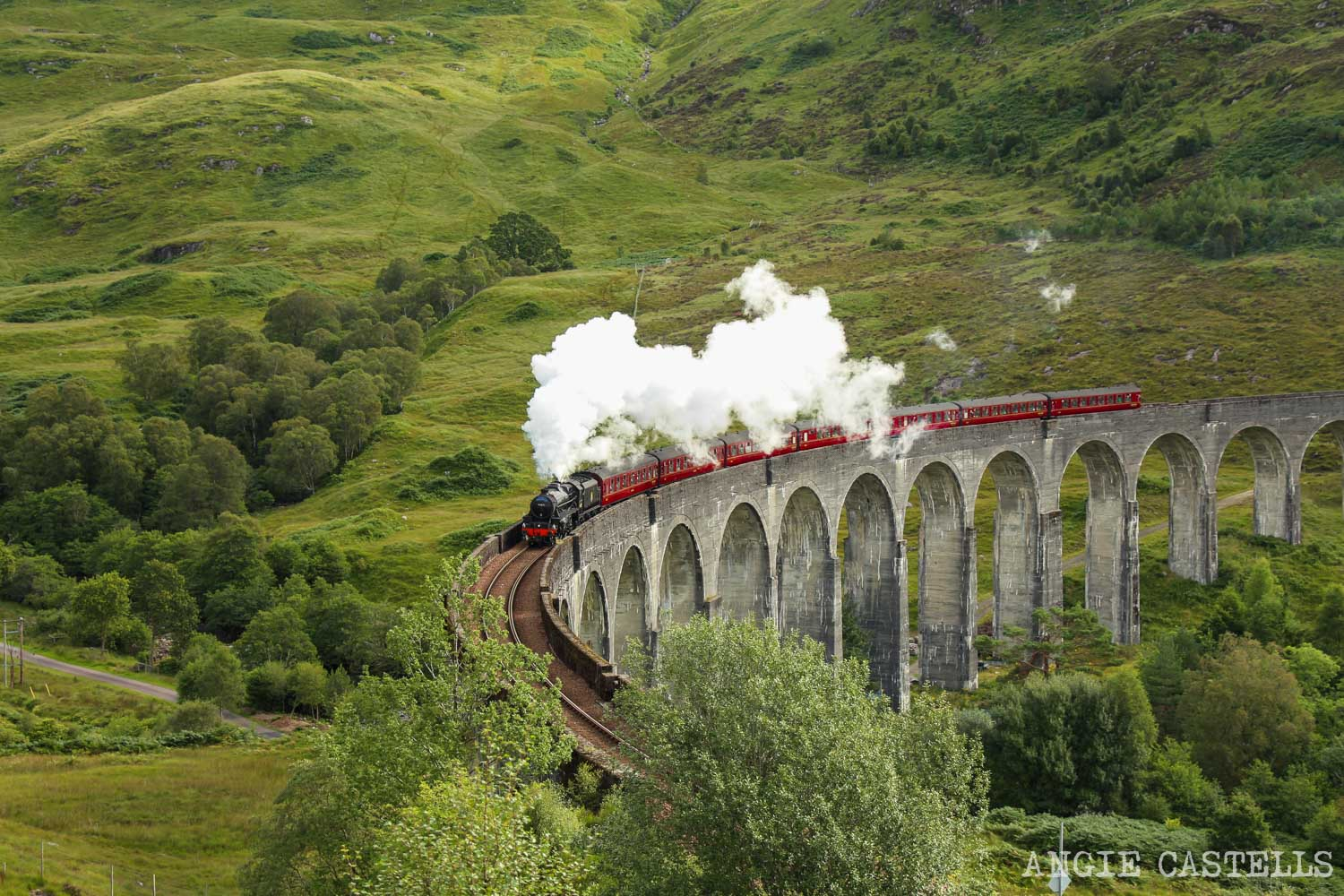 Glenfinnan y el tren Jacobite Harry Potter Escocia-1