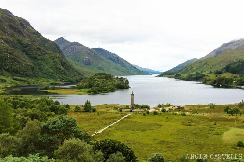 El viaducto de Glenfinnan y el tren Jacobite Escocia