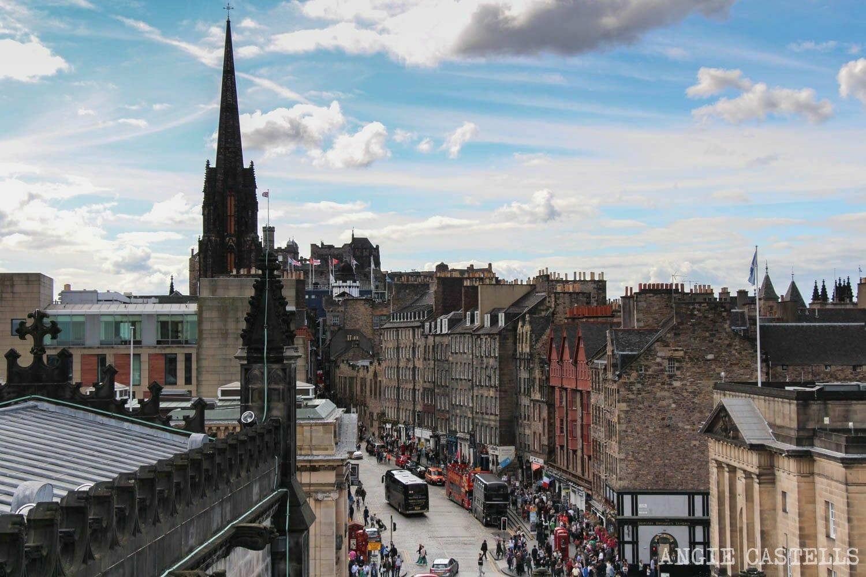 Subir al tejado de la catedral de St Giles Edimburgo
