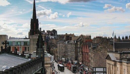 Edimburgo desde la catedral de St Giles