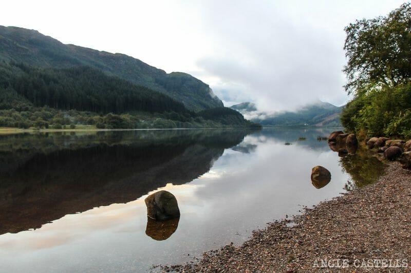 Ruta por las Highlands de Escocia en coche: Loch Lubnaig