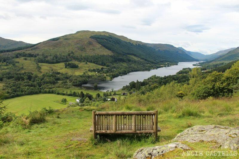 Ruta por las Highlands de Escocia en coche: Balquhidder