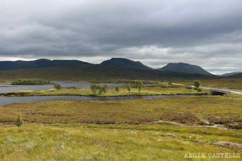 Ruta por las Highlands de Escocia Rannoch Moor