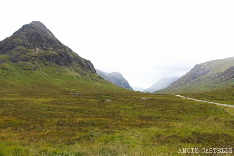 Ruta por las Highlands de Escocia: Glencoe