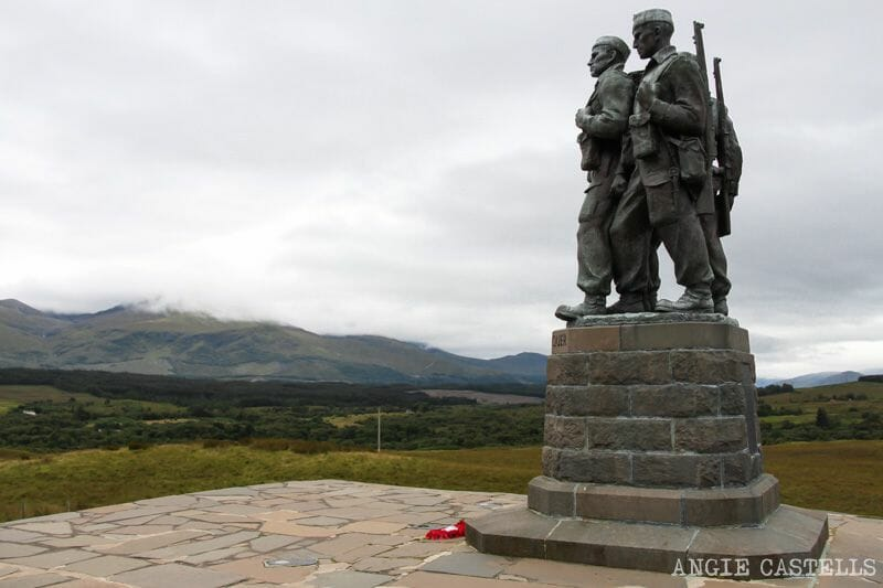 Ruta por las Highlands de Escocia: el Commando Memorial