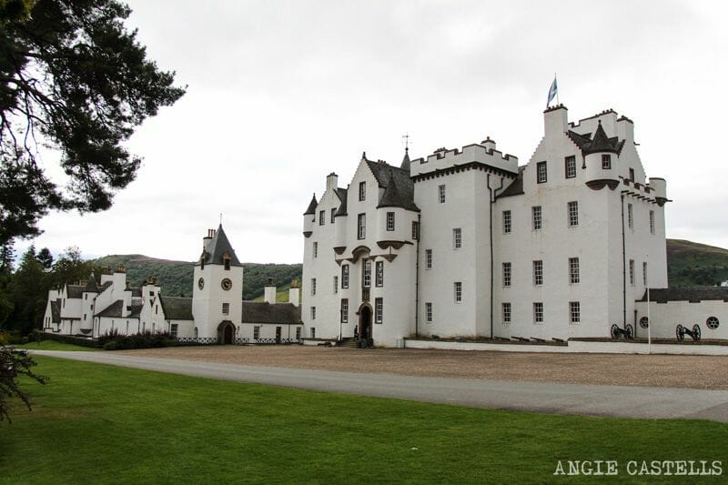 Ruta por las Highlands de Escocia Blair Castle