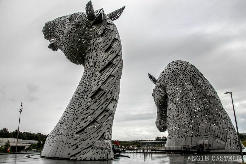 Visitar los Kelpies estatuas Escocia