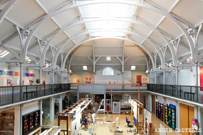 Qué hacer en Edimburgo - Visitar los Dovecot Studios