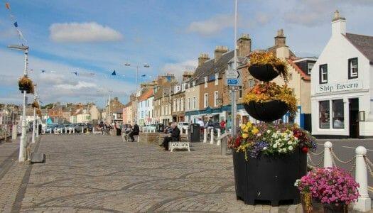 Anstruther y el mejor fish & chips de Escocia
