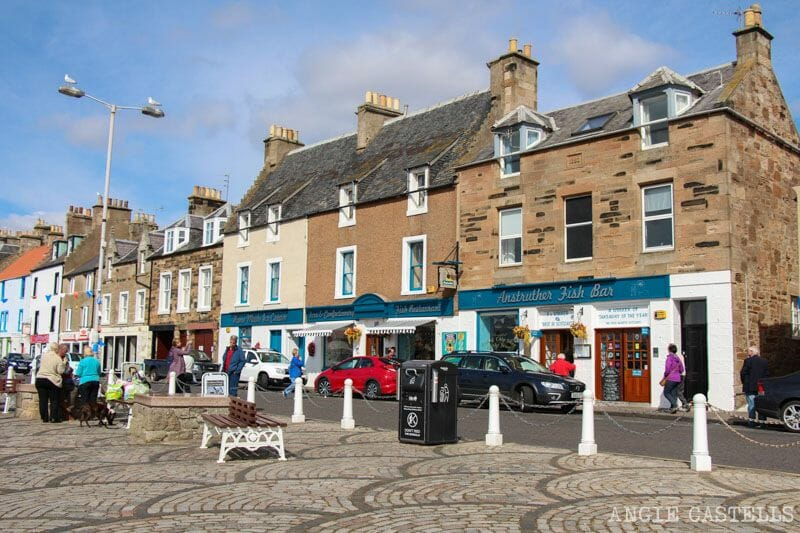 Visitar Anstruther y los pueblos pesqueros de Fife - El mejor fish & chips de Escocia