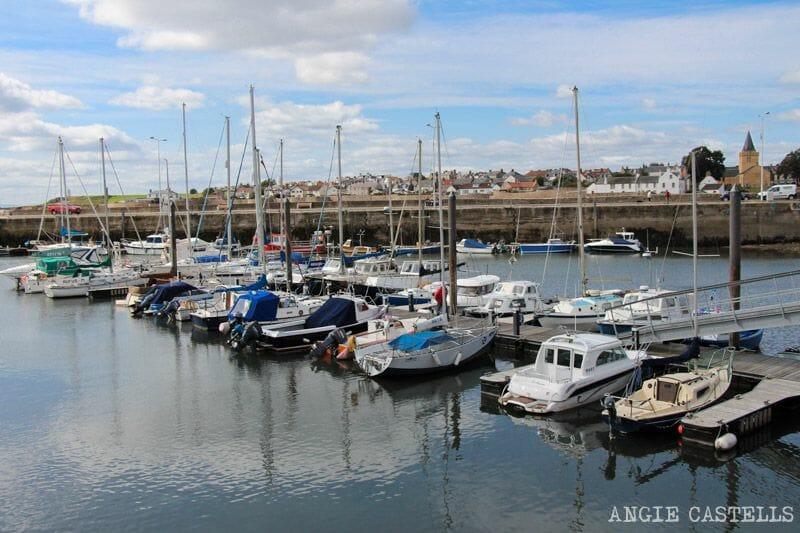 Visitar Anstruther y los pueblos pesqueros de Fife - El puerto y la isla de May