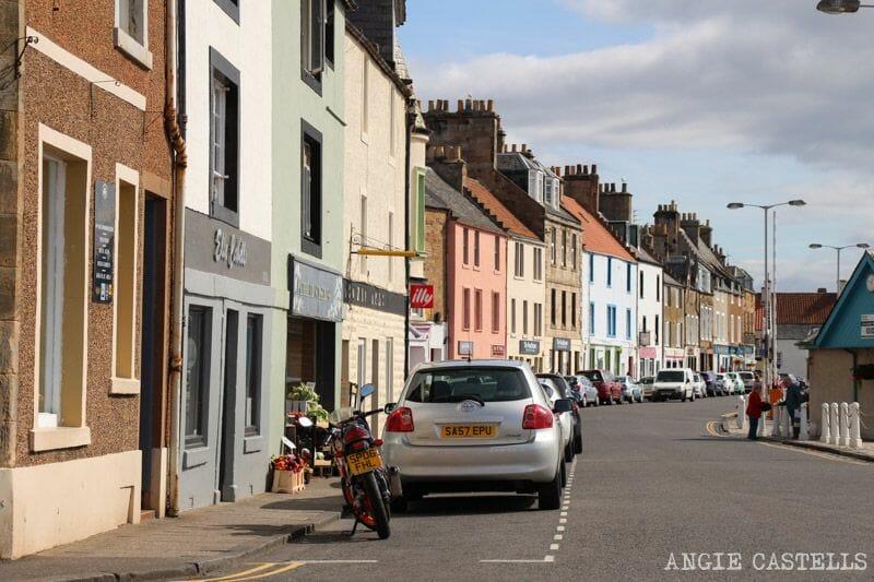 Anstruther costa de Fife mejor Fish and Chips de Escocia