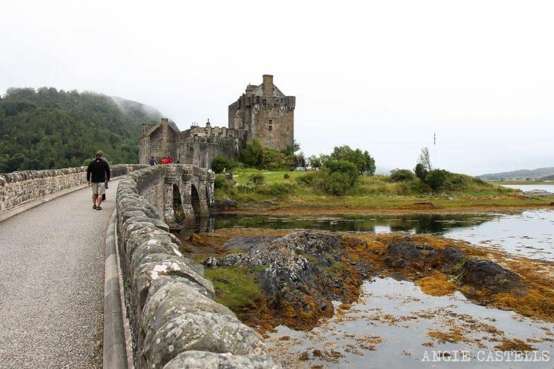 Visitar el castillo de Eilean Donan, en las Tierras Altas de Escocia