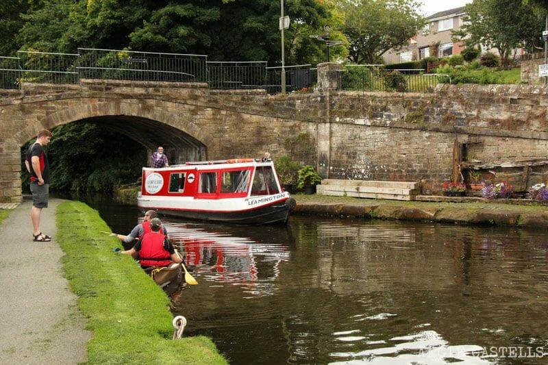 Visitar Linlithgow en una excursión desde Edimburgo: el Union Canal
