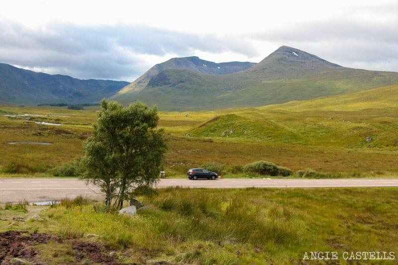 Conducir por la izquierda y conducir por Escocia