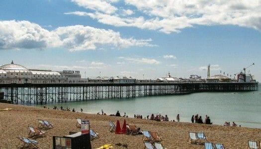 Un día en Brighton, en la costa inglesa
