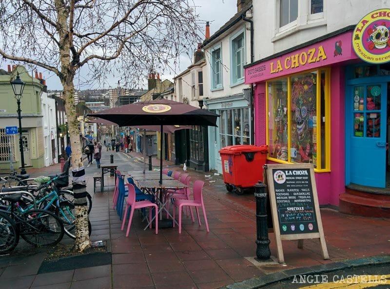 Que visitar en Brighton en un día North Laine
