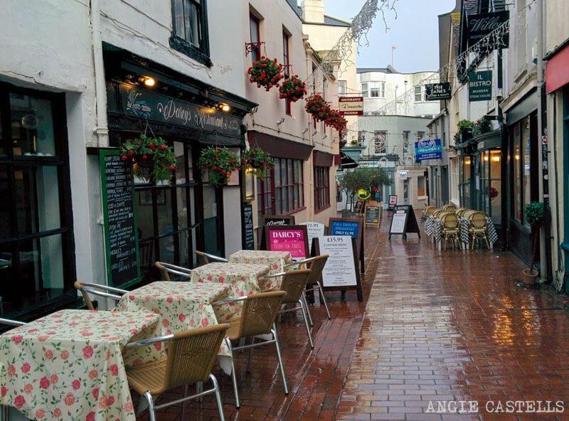 Que visitar en Brighton en un día The Lanes