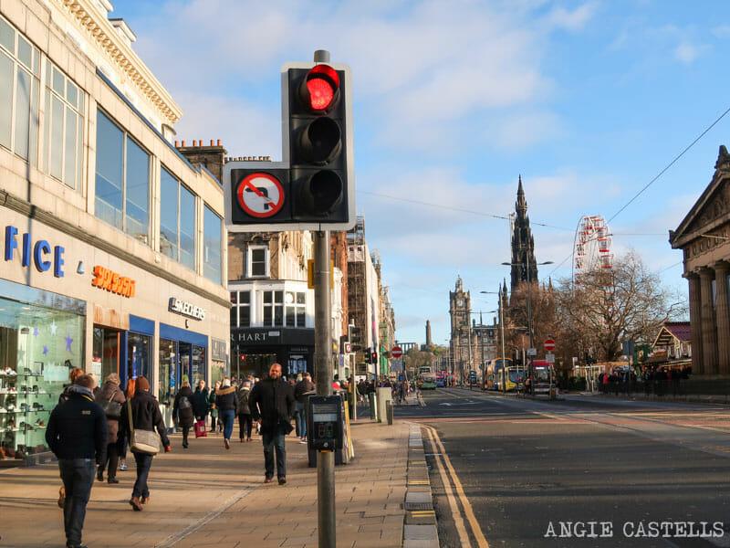 Qué ver en Edimburgo en 2 días - Princes St