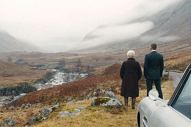 Skyfall Glencoe Escocia