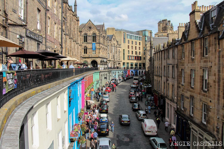 Victoria Street Old Town Edimburgo