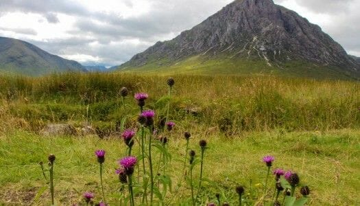 Atravesando Glencoe, un valle estremecedor en Escocia