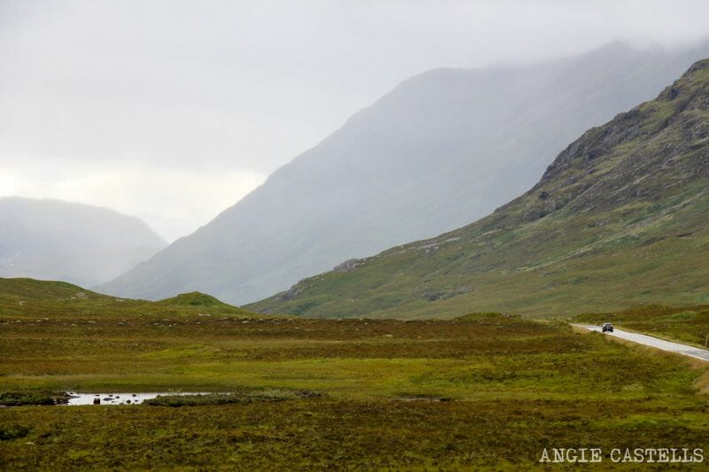 Visitar valle de Glencoe Highlands de Escocia