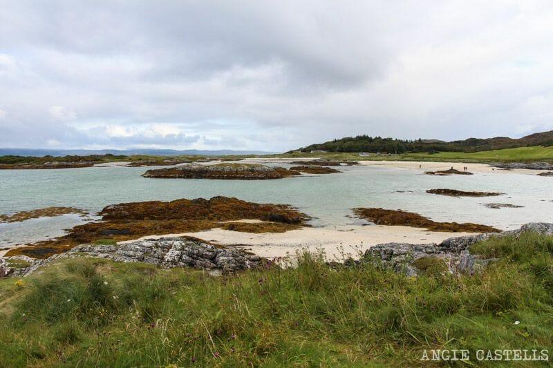 Visitar las Silver Sands of Morar, playas de arena blanca en Escocia