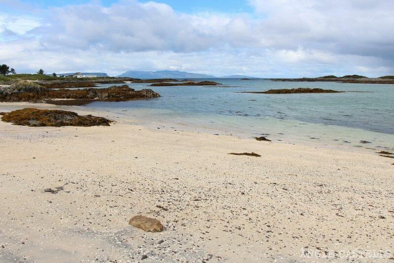 Camusdarach y las Silver Sands of Morar, playas de arena blanca en Escocia