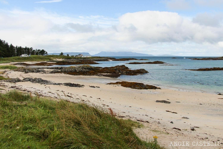 Silver Sands of Morar playas arena blanca Escocia