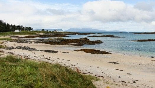 Silver Sands of Morar, las playas blancas de Escocia