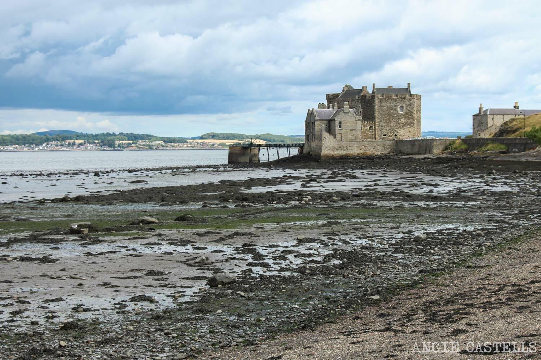 Blackness Castle castillo Escocia cerca de Edimburgo-1