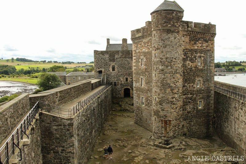 Blackness Castle castillo Escocia cerca de Edimburgo