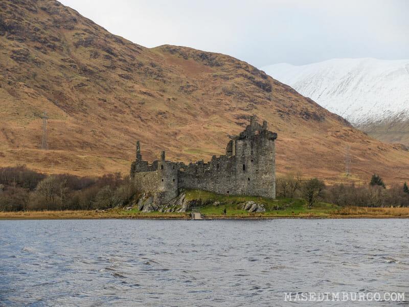 Ruta Escocia Kilchurn Castle