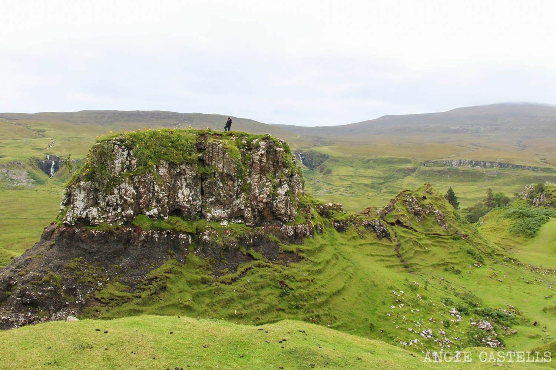 Fairy Glen donde viven hadas Escocia Isle of Skye