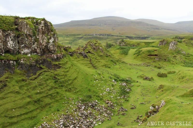 Fairy Glen hadas Escocia Isla de Skye